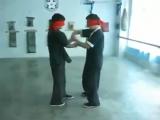Слепые Липкие руки в стиле Вин Чунь