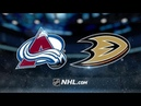 Colorado Avalanche vs Anaheim Ducks Nov 18 2018 Game Highlights NHL 2018 19 Обзор матча