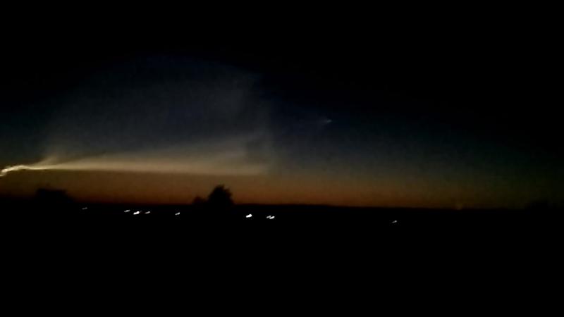 полет ракеты гагино