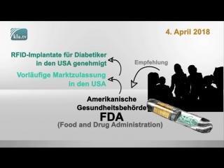 RFID-Implantate für Diabetiker – kommt der Chip bald für alle? ⇢ www.kla.tv/12537
