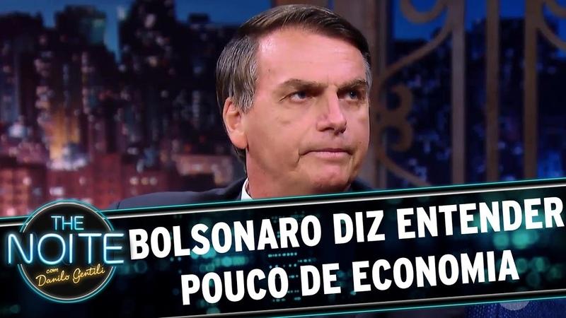 Jair Bolsonaro cita Lula e Dilma para mostrar que está preparado | The Noite (200317)