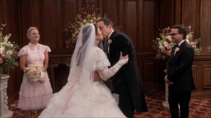 Теория большого взрыва 11-ый сезон 24-ая серия - свадьба Шелдона и Эмми