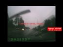Момент жесткой аварии на Рославльском шоссе 24.09.2018