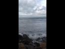 Черноморский циклон в Анапе. Ходила любоваться красивым и пугающим зрелищем. 08.09.2018