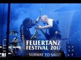 Subway to Sally live Feuertanz festival 2012