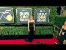 Yvonne Strahovski at the Golden Globe Awards 2018