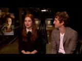 Интервью в рамках пресс-тура фильма «Цветок»