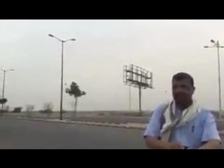 شاهد - تصوير لاحد الاحرار بتاريخ اليوم - من منطقة الدوار في الحديدة وخلف ال.mp4