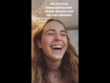 Instagram story by Cailee Rae