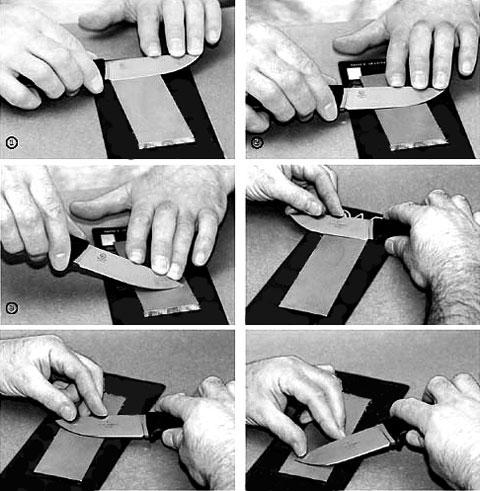 Правильная заточка ножей (как точить ножи).