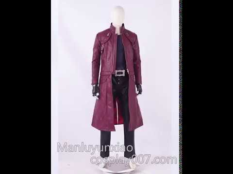 Devil May Cry 5 DMC5 Dante replica cosplay costume detail overview