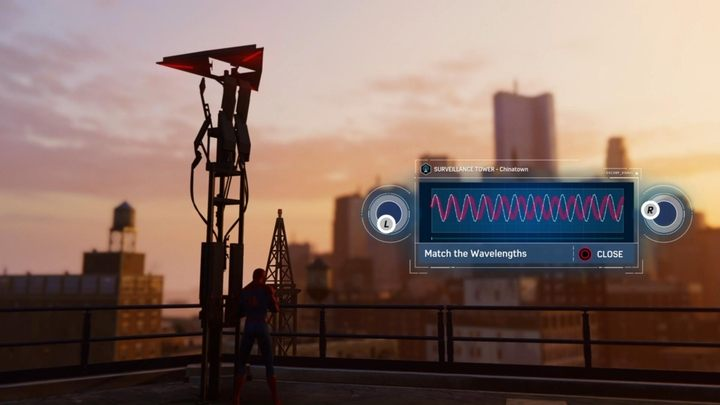 башни наблюдения в Marvel's Spider-Man