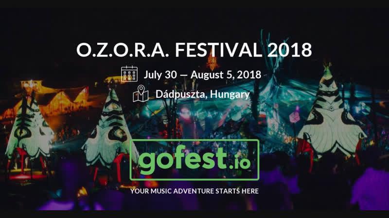 ТРАНСЛЯЦИЯ I HD 19 1o 2o18 RITMO @ Mainstage Ozora Festival Hungary 2o18 * II