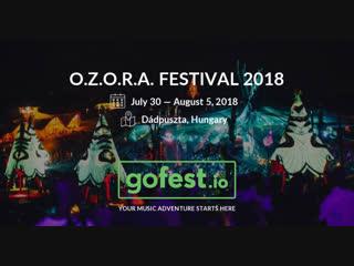 ТРАНСЛЯЦИЯ I HD  19-1o-2o18  _ RITMO @ Mainstage, Ozora Festival, Hungary #2o18  II