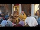 Чтение Евангелия, Престольный праздник храма в честь Св. Луки Крымского военного госпиталя, г. Рязань, 11-06-2018