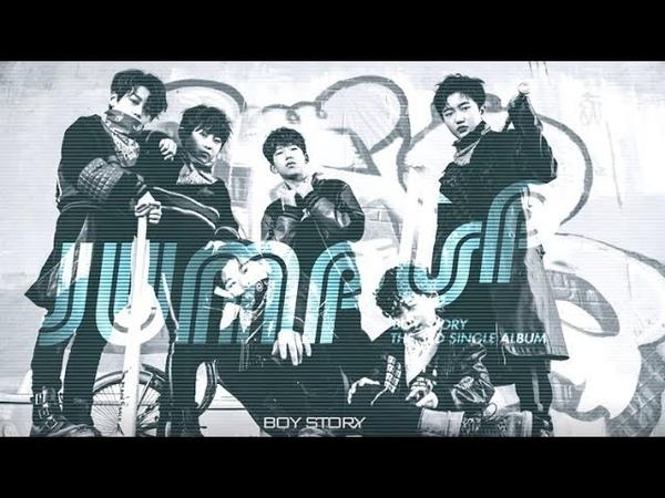 BOYSTORY 3rd Single《JUMP UP》Spoiler