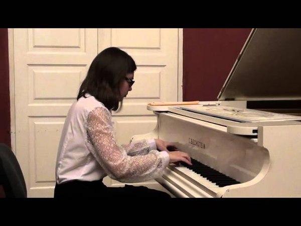 Л. В. Бетховен - Соната № 8 (патетическая), 2 и 3 - я части - Дарья Дорожкина