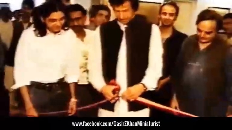 DIANA - Paintings Exhibition | Inaugurated by Imran Khan (PTI)