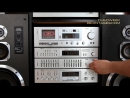 Stereo Components In AKAI Hi Fi Tower