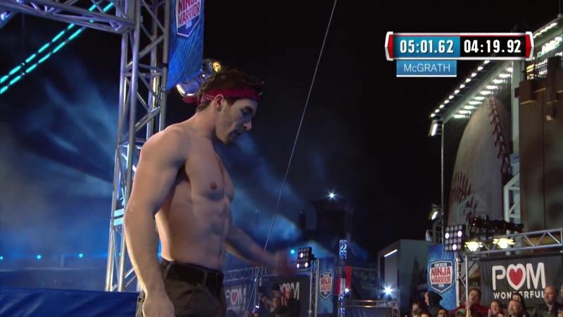 Drew Drechsel at the Atlanta Finals - American Ninja Warrior 2016