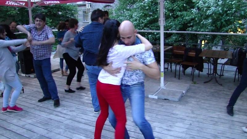 Александр Харитонов и Ирина Панова - бачата на Веранде