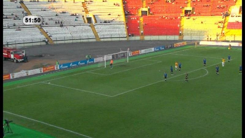 ФНЛ 2011/12. 24 тур. Алания – Шинник 0-1