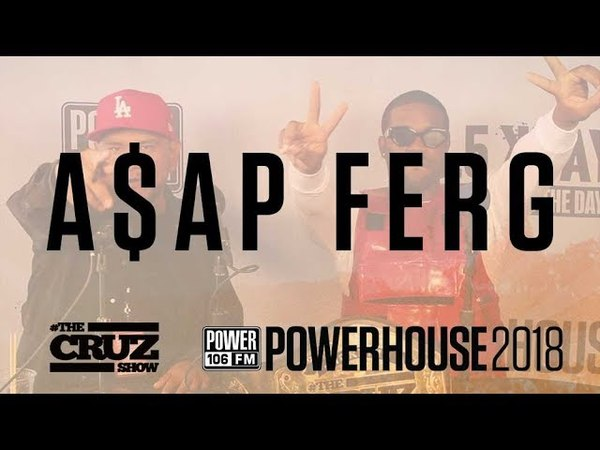 A$AP FERG on July Madman Tour, Working with Tiffany's and Adidas, His Love for LA and more!