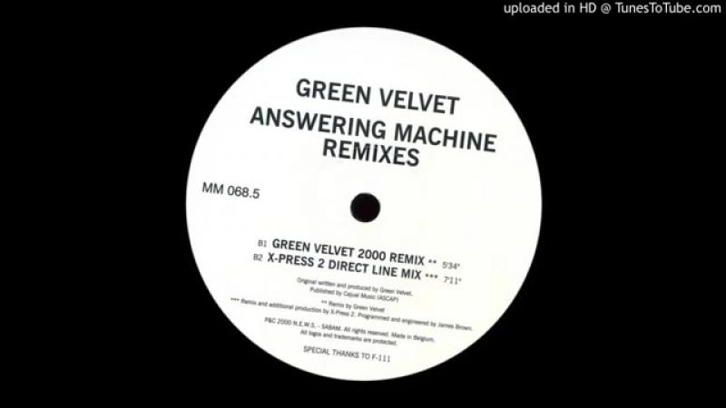 Green velvet ★ answering machine ★ main frame mix