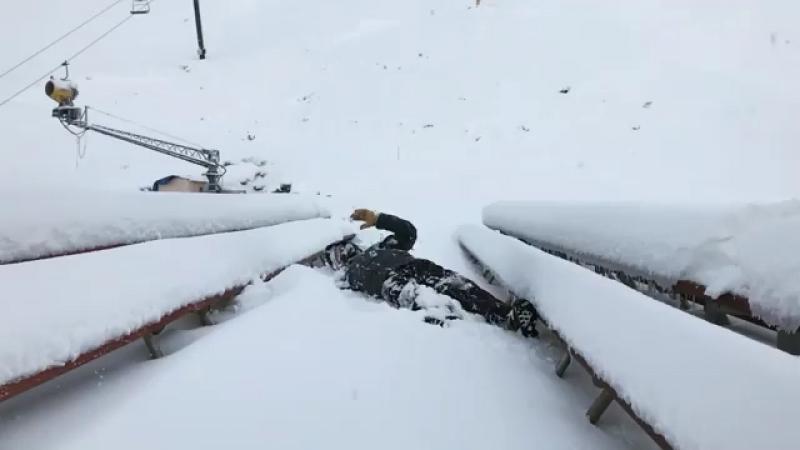 More snow, Coronet Peak, NZ