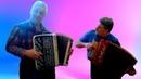 Цыганочка с выходом ☀️ 😊 Распахнись душа Эх Разгуляемся Дуэт гармошка и баян Play the accordion