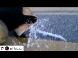 Как ведёт себя зимой съемная краска PLASTI DIP