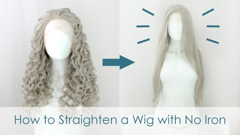 How to Straighten a Wig without an Iron