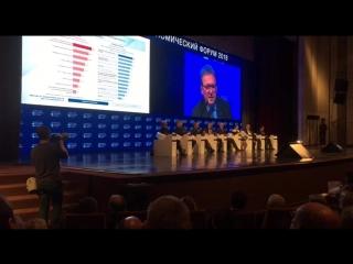 Борис Титов на Московском Экономическом Форуме 2018.