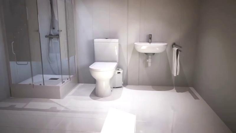 SFA САНИНАСОС - надежное решение для переноса канализации в любом помещении