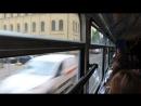 Поездка на трамвае Tatra T4D M1