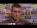 Crystal Palace 0-2 Liverpool James Milner post match reaction interview