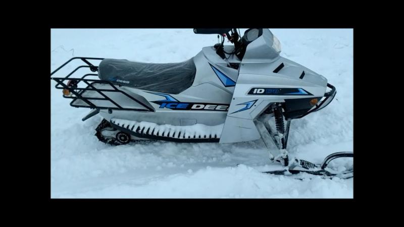 Снегоходы Динго 150 и IC DEER 200 обзор