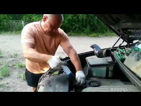 BMW X5 - Раскоксовка 204-СУРМ-НК двигателя М 57 дизель в процессе его работы