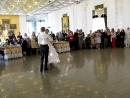 Свадебный вальс. Пара профессионально занималась бальными танцами!!