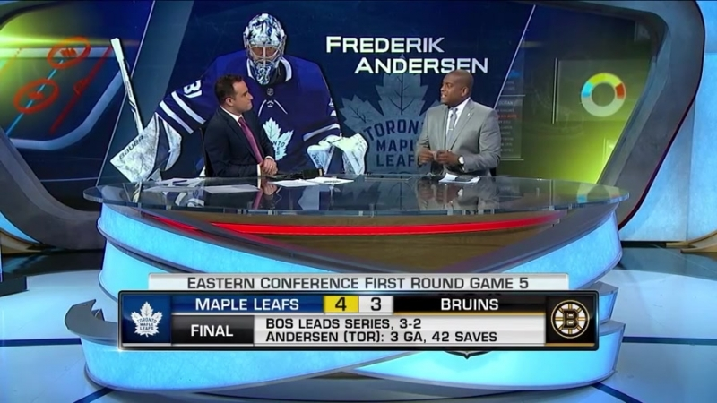 NHL Tonight: Bruins-Leafs Game 5 Apr 21, 2018