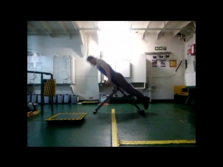 Тренировки на борту судна. 2017-2018