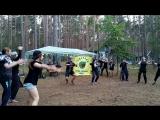 танец фехтовальщиков в стиле хип-хоп- инструктора 3 смена