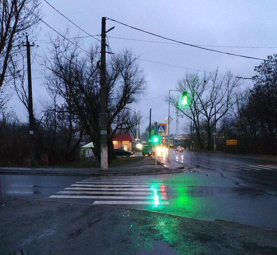 В Славянске вновь работают светофоры в микрорайоне Химик