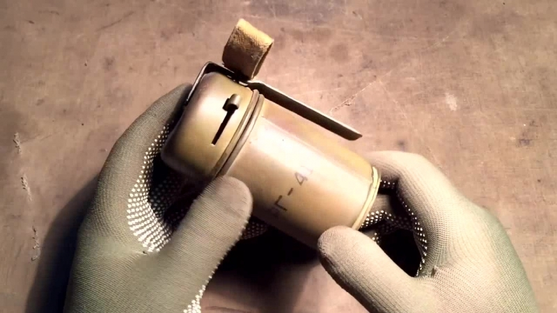 Советская ручная граната РГ-41 Russian (soviet) hand grenade RG-41