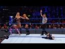Charlotte Flair, Becky Lynch Naomi vs. The Riott Squad- SmackDown LIVE, Jan. 16, 2018