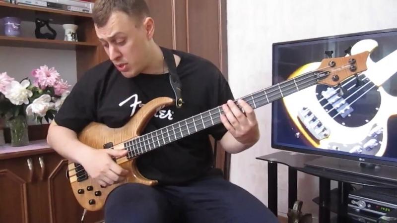 Уроки игры на бас гитаре. Slap Урок № 2 (Мёртвые ноты, pull-off_hammer-on, doubl