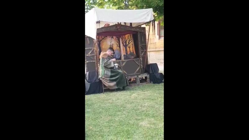 Theatrum Diaboli - TANZWUT Marionettentheater -- отрывок из пьессы «Wie der Spielmann dem TEUFEL das Fürchten lehrte»