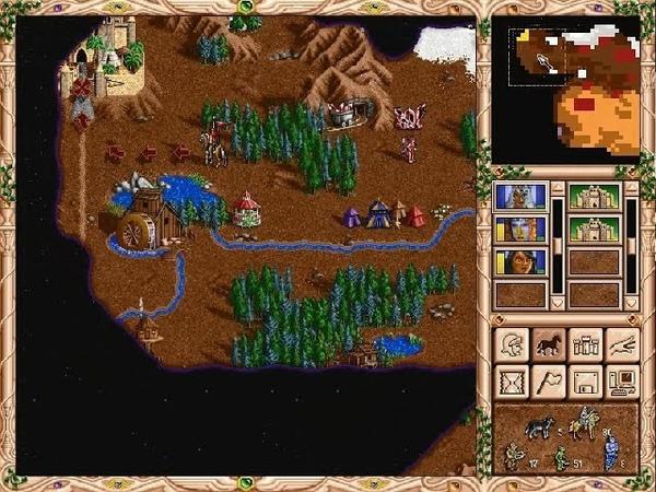 Взгляд в прошлое Выпуск 30 Heroes of Might and Magic II Войны с варварами 2