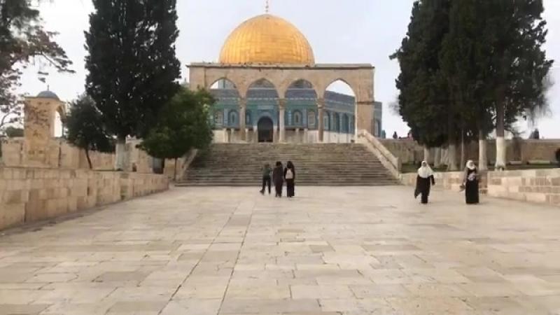 Appel à la prière du Zénith de Midi Salat Al Assr En direct de l'esplanade du Massdjid Al Aqsa Al Charif