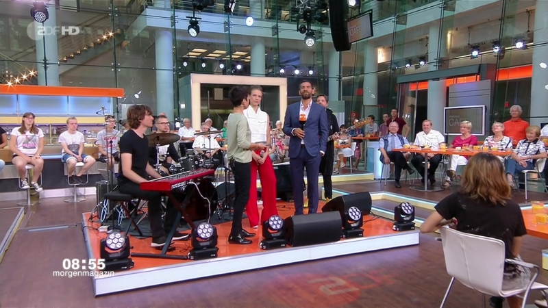 Leona Berlin Make Me Wanna Searching ZDF Morgenmagazin mo ma Café 2018 08 13